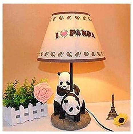 Amazon.com: Chino creativo dibujos animados Panda Lámpara De ...