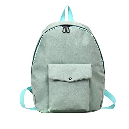 Hot Selling!!!♛HYIRI Backpack Solid Bag,Women's Adult Backpack Teenage Girls Bogs School Pocket Students Bags