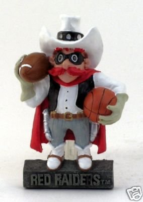 Red Raider Mascot Costume (Texas Tech Red Raiders Football Basketball Mascot Nib)