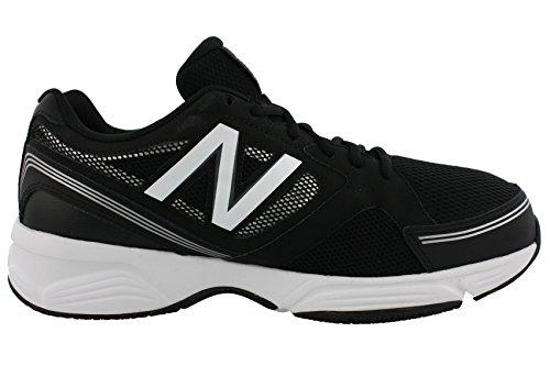 Nieuwe Balans Heren Mx417v4 Zwarte Sneaker 8 4e - Extra Breed