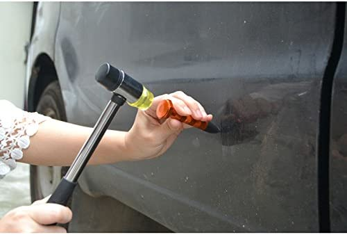 NIUPAN Remove dents Remove the pen and rubber hammer knockdown tool without paint tool manual tool