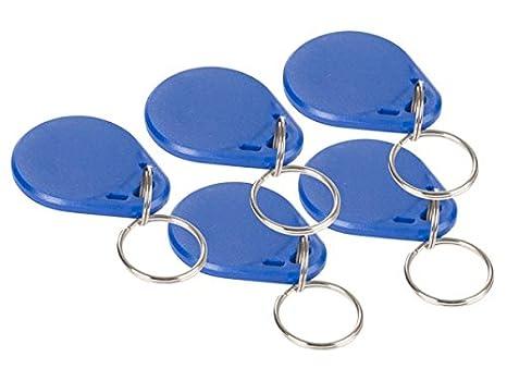 5-PK Velleman tarjeta inteligente Mifare RFID IC Key Ring ...