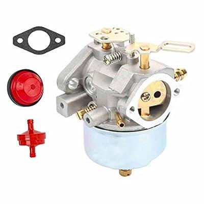 FYIYI New 632334 CarburetorFor Tecumseh 632334A 632334 HM70 HM80 HMSK80 HMSK90 Snow Blower