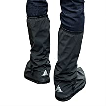 Bluesnow Waterproof Rain Boots Cover Overshoes Slip-resistant Both for Men and Women
