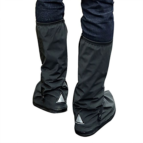 BS Bluesnow Waterproof Rain Boots Cover Overshoes Slip-resistant Both for Men and Women(S)