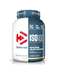 ISO 100 is simply muscle-building fuel. Each serving contains 25 grams of protein and 5.5g of BCAAs including 2.7g of L-Leucine. Known worldwide for quality, taste and purity, ISO100 is produced to our highest quality standards. ISO100 is for...