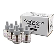 Comfort Zone 100523779 Multicat Diffuser Refills, 6 Pack, for Cat Calming