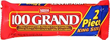 100 Grand Candy (Nestle 100 Grand Share Pack, 2.8-Ounce Candy Bars (Pack of 24))