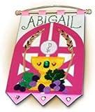 First Communion Banner Kit - 9 x 12 - Gates - Pink