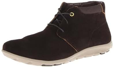 Rockport Men's TruWalk Zero II Chukka Boot,Dark Brown Suede,12 M US