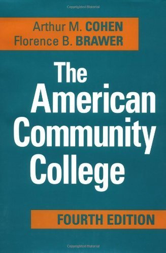 The American Community College by Arthur M. Cohen (2002-11-11)