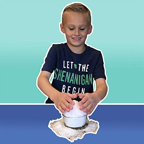 Let it Snow Instant Snow Powder (4 Gallons) and Elmer's Glue (1 Gallon) - Mix Makes Magical Fluffy White Artificial Snow - Perfect for Cloud Slime! Frozen Theme Birthday Parties and Snow Decorations! by Let it Snow (Image #3)