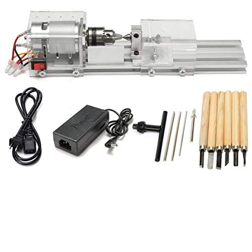 Learn More About Yaetek Mini Lathe Beads Polisher Machine DIY Woodworking Craft Rotary Tool