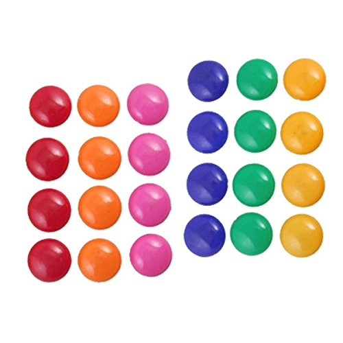 Saim Magnetic Button Round Presentation Whiteboard 24 Pcs