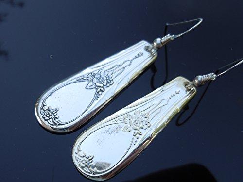 Sears & Roebuck Newport 1946 Earrings - Silverplate 1946
