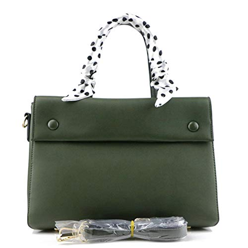 Ratbag Ladies Bags 2018 New Fashion Retro Sac Simple Pu Ol Lady Platinum Vert Militaire