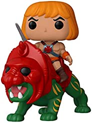 Funko - Masters of the Universe: He-man on Battlecat Figura Coleccionable de Vinilo, Multicolor, 47680