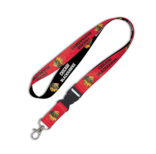 WinCraft NHL Chicago Blackhawks Lanyard with Detachable Buckle, ()