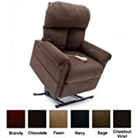 Mega Motion Easy Comfort BridgeWater LC-100 - Infinite Position Lift Chair - Chocolate Dark Brown