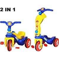 ATNINE Tricycle Combo for Kids Baby Boy and Girl (Multicolour)