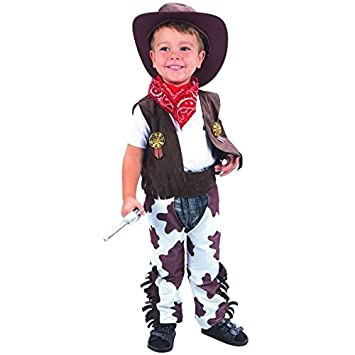 Disfraz de vaquero para niño  Amazon.es  Juguetes y juegos 839b655db05