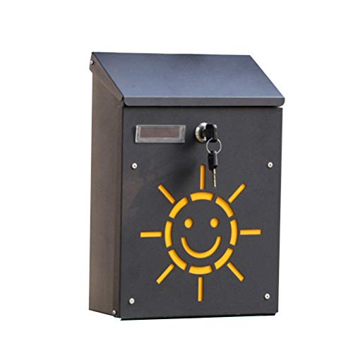 LIOOBO Suggestion Drop Box Wall Mounted Post Box Mailbox with Lock for Office, Customer Center, School, Hospital, Hotel