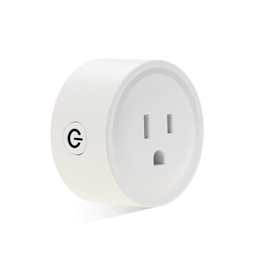 Smart Plug,FRANKEVER Wi-Fi Smart Mini Sockets Outlet Compatible Alexa Google Home Remote Control Your Devices with Timing Function from Anywhere,No Hub Required