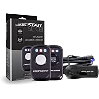 CompuStar RF-2W1B-SP 2-Way 2500ft Range LED Remote Start Transmitter, Slice Jr. (RF2W1BSP)