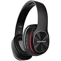 Audífonos Inalámbricos de Diadema, Audífonos Gamer Inalambrico Bluetooth Auriculares Inalámbricos para Juegos Micrófono…