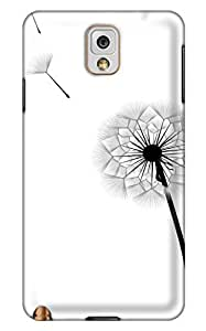 Online Designs Dandelion Painting PC Hard new note 3 cases