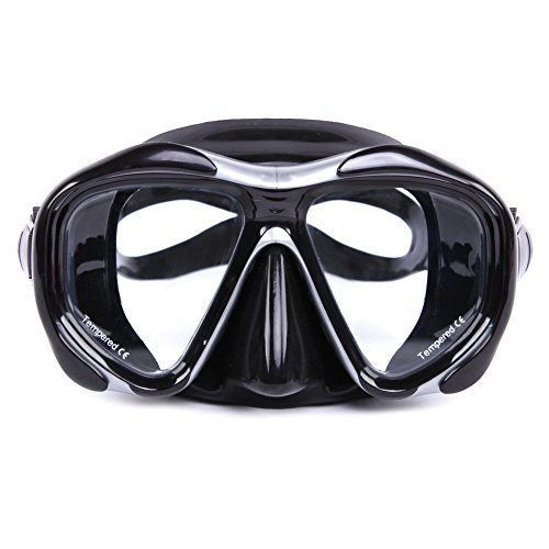 Whale Seal (Whale Brand 2016 Seal Silicone Skirt Strap Snorkel Scuba Dive Mask with Myopia and Hyperopia Lens Diving Equipment)