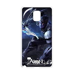 Aion The Tower Of Eternity Samsung Galaxy Note 4 Cell Phone Case White ten-367336
