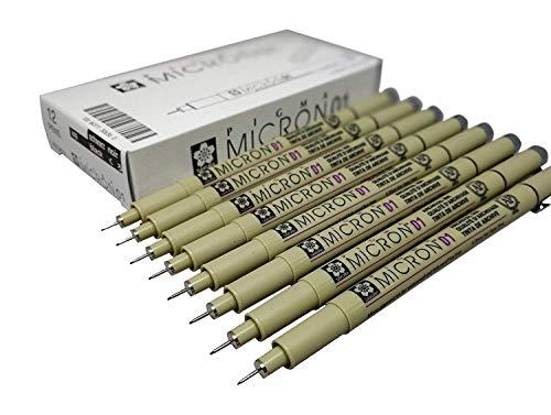 Sakura Pigma Micron Pen - Sakura Pigma Micron pen 01 Black