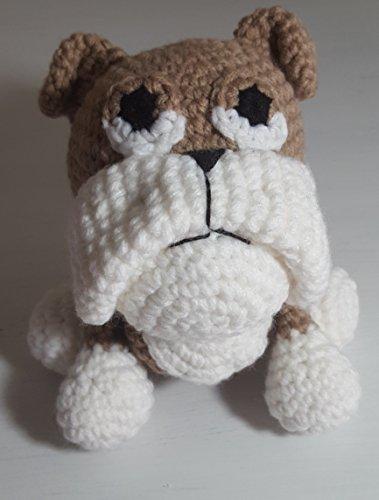 crochet bulldog - 1