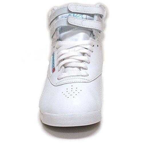 Sneaker Allacciata Da Donna Freestyle Hi Reebok Bianco / Blu