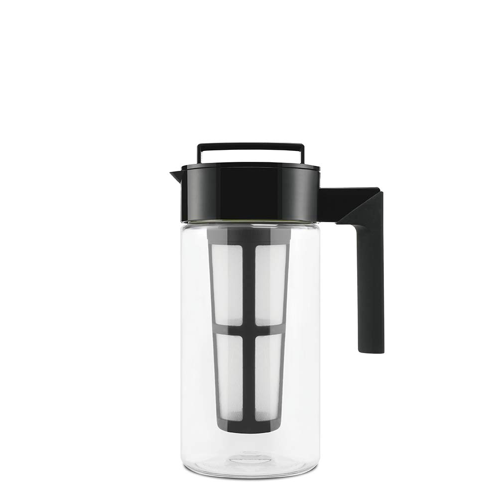 5190734643 Amazon.com: Takeya 10310 Patented Deluxe Cold Brew Iced Coffee Maker with  Airtight Lid & Silicone Handle, 1 Quart, Black - Made in USA BPA-Free ...