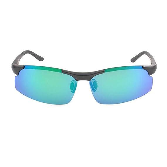 SSXY Clásico medio gafas de sol sin montura bicicleta ...