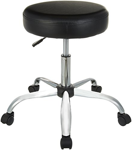 AmazonBasics Drafting Stool – Black