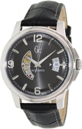 Guess Collection GC Classica Automatic Grey Dial Stainless Steel Mens Watch X84003G5S