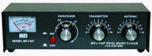 MFJ-921 Manual tuner + SWR: 2m/1.25m, 30/300W For Sale