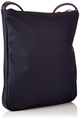 Tommy Hilfiger Poppy Flat Crossover, Borsa a Tracolla Donna, Blu (Tommy Navy), 13 x 28 x 36 cm (W x H x L)
