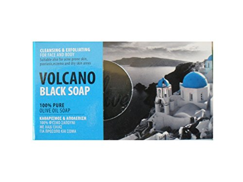 Volcano Lava Scrub Soap - Olive Oil Soap with Volcanic Lava Olive Spa