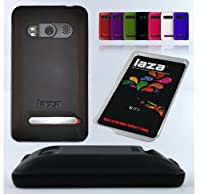Laza Sprint HTC Evo 4G Extended Battery Silicone Case Black