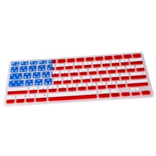 TCD USA American Flag MacBook Pro 13 15 17 Silicone Keyboard Cover Skin Retail Package