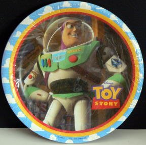 TOY Story - BUZZ LIGHTYEAR - Paper Plates & Amazon.com: TOY Story - BUZZ LIGHTYEAR - Paper Plates: Toys u0026 Games