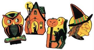 Halloween Embossed Cut Outs (1 Pack of (Halloween Decorations On Clearance)