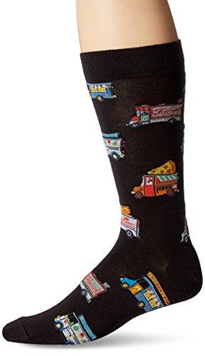 K. Bell Socks Men's Crew, Food Trucks, 10-13