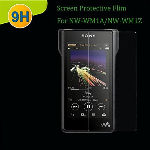 Premium Front Tempered Glass Screen Protector Film For Sony NW-WM1A/NW-WM1Z