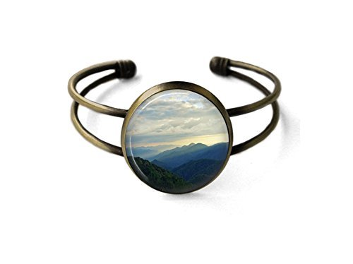 Bracelet Set Mountain Cuff (Smoky Mountain Sunset Cuff Bracelet)