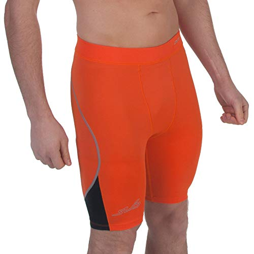 Sub Sports Mens Compression Shorts Running Base Layer Sweat Wicking Stretch -L